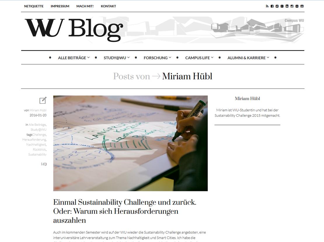 WU Blog